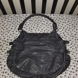 Bags - Large dark gray purse